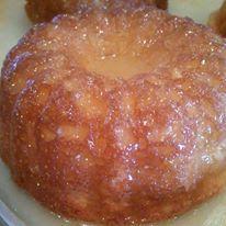 Hot Lemon Syrup Soaked Cake  www.larkscountryheart.com  #recipes, #dessert, #Lemon, #hotlemonsyrupsoakedcake