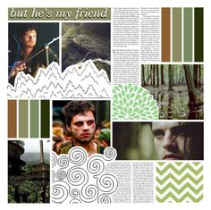 """But he's my friend"" by raventail143 ❤ liked on Polyvore featuring art"