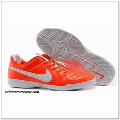 the latest 2fc6f 660e4 Nike Tiempo Natural V Genio Leather IC Indoor Pink White  60.00