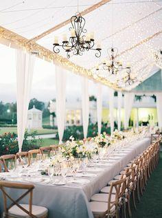 LA chic outdoor wedding: Photography: Luna de Mare - http://lunademarephotography.com/