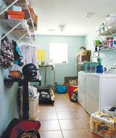 . . .Laundry Room | With their coat closets, kitchens, bathrooms, even cars desperately needing to be organized, readers asked Real Simple for advice.
