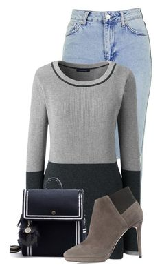 """""""Untitled #19940"""" by nanette-253 ❤ liked on Polyvore featuring Topshop, Lands' End and Jimmy Choo"""