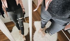Street Look Street Look, Skinny Jeans, Pants, Fashion, Woman, Trouser Pants, Moda, Fashion Styles, Women Pants