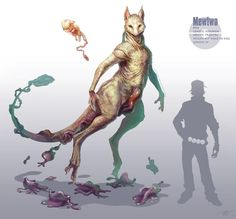 A realistic version of #Mewtwo #Pokemon