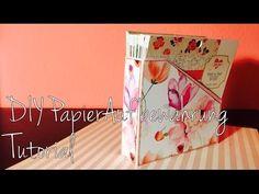 DIY Scrapbook Papier-Aufbewahrung *6x6 Papier*  [ tutorial   deutsch]