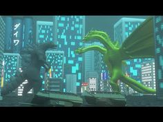 Godzilla: Vengeance | An amazing Godzilla animated short film. See Godzilla battle his arch nemesis King Ghidorah in a battle to the death in this amazing animation.