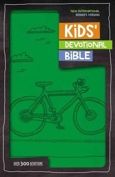 Kids' Devotional Bible: Over 300 Devotions: New International Reader's Version, Imitation Leather,