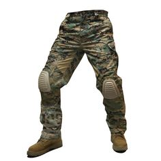 ADVANCED FAST RESPONSE PANTS : ADVANCED FAST RESPONSE PANTS IN USMC-WOODLAND MARPAT-ML