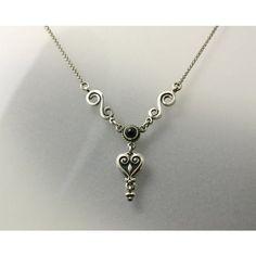 ISTENFALEVELES LÁNC-magyar ékszer Pendant Necklace, Jewelry, Jewlery, Jewels, Jewerly, Jewelery, Drop Necklace, Accessories