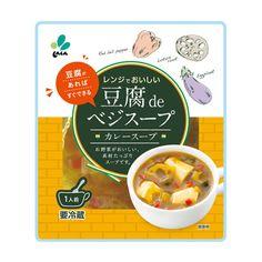 豆腐 de ベジスープ <カレースープ> - 食@新製品 - 『新製品』から食の今と明日を見る!