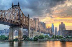 Maravillosos puentes del mundo - Queensboro Bridge (New York)
