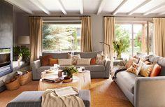 Una casa en la Cerdanya, obra de la interiorista Bárbara Sindreu, inspirada en un hotel de montaña