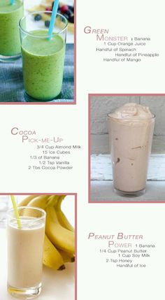 Shakes to help boost your body