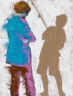 Talking Loud Saying Nothing, 2016 by Hannu Palosuo. Oil on canvas, 40x30 cm, 1100€. Inquiries sari.seitovirta@seitsemanvirtaa.com / GALERIE SEITSEMÄN VIRTAA