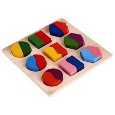 SODIAL(R) Puzzle di legno Giochi giocattolo educativo per il bambino del bambino: Amazon.it: Giochi e giocattoli