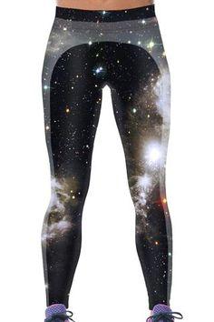 Leggings Miraculeuse Galaxy 3D Monde Print Yoga Pants