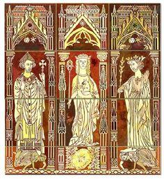Chertsey Abbey Tiles, Terra Cotta