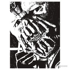 Bane T-Shirt And Sticker For sale  #batman #dc #comic #art #drawing #illustration #selling #sale