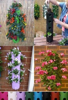 This awesome vertical garden are so amazing in more way than one: they can be made out of different materials (wood, plastic, PVC pipes, flower pots), the air around them is always fresh. This gardens are meant for small spaces like: hallways, the kitchen, balcony's, even bathrooms. Use flowers that can resist to dark and …