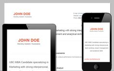 Classic - Mobile friendly online Resume by Cloud CV