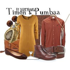 """""""Timon & Pumbaa"""" by lalakay on Polyvore"""