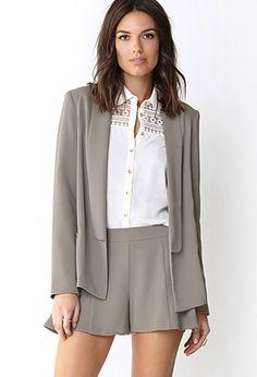 Sophisticated Textured Blazer | FOREVER 21 - 2000091733
