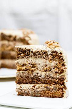 Russian Honey Cake, Russian Cakes, Food Cakes, Cupcake Cakes, Gourmet Cakes, Cupcakes, Cake Recipes, Dessert Recipes, Poppy Seed Cake