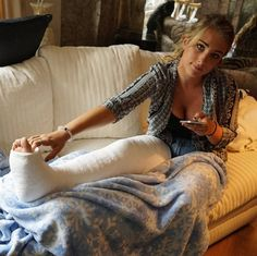 Bdsm leg cast