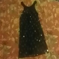 Dress Size medium brown above knee dress with large sequins from Enz's NYC. In gently used condition. enz's NYC Dresses Midi