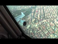 Approach and landing Mexico City