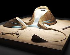 Architectural Model (MAD Architects-Harbin Opera House) on Behance Biomimicry Architecture, Architecture Concept Drawings, Organic Architecture, Architecture Portfolio, Futuristic Architecture, Contemporary Architecture, Landscape Architecture, Architecture Design, Computer Architecture