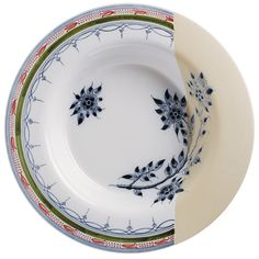 'Deep Platter,' Handdecorated dish, from the NON-Temporary collection by Hella Jongerius for Royal Tichelaar Makkum.