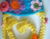 Rapunzel Hat Crochet Pattern PDF