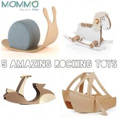 New post on mommo design: 5 AMAZING ROCKING TOYS