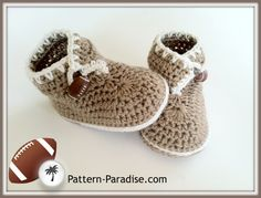 ❤❤❤ SWEET FEET SLIPPER SHOES ❤❤❤ Sweet - crochet baby slippers / shoes pattern includes sizes 0-6 months, 6-12 months and 12-18 months - Easy to Intermediate ~ Crochet Baby Slippers / Shoes