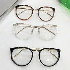 Non-Prescription Round Eye Glasses