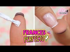 Nails Ivette - YouTube French Nails, Hair And Nails, Youtube, Instagram, Make Up, Diana, Organic, Art, Enamels