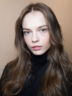 NYFW Fall 2015 - Beauty Trends - Slept-in Waves - Ralph Lauren