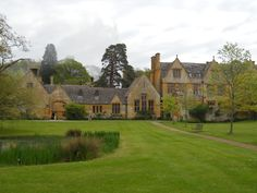 Stanway House, Cotswold Gloucestershire England. Owned by Tewkesbury Abbey for 800 years, the for 500 years by the Tracy family and their descendents.