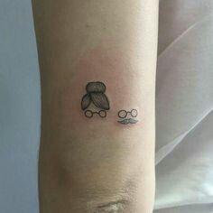 Tatto homenagem para o avô e a avó
