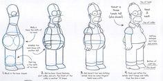 draw Homer