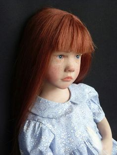 French artist Laurence Ruet creates amazingly life-like dolls that can almost pass for real children.