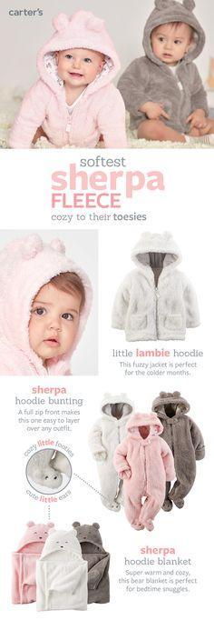One-stop baby fleece shop: Cute & cozy is the best combination!