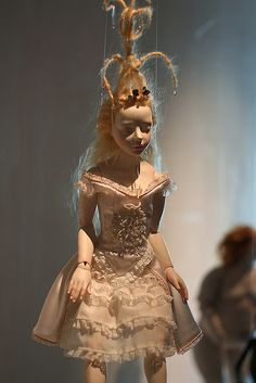 Art doll - White by Marie's Garden Marionette Puppet, Puppets, Valley Of The Dolls, Detail Art, Small Art, Bjd Dolls, Ball Jointed Dolls, Doll Face, Handmade Clothes