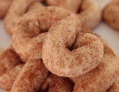Cinnamon Sugar Figure-Eight Cookies | OrnaBakes