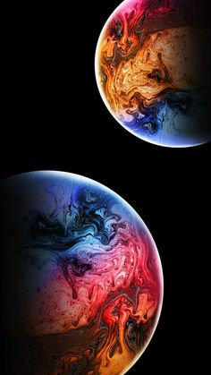 Extraterrestrial Planets - iPhone Wallpapers