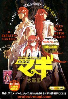 Ler mangá Magi: The Labyrinth of Magic - Capítulo 156 online