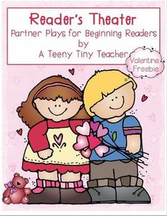 Reader's Theater - Partner Plays for Beginning Readers Freebie for Valentine's Day!