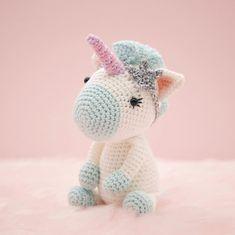 Amigurumi crochet cute unicorn Aurora the unicorn PATTERN