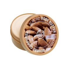 The Body Shop Almond Body Butter - can't wait to try this scent next, it smells amazing in the tub.